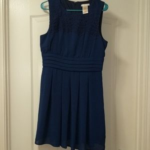 Esley royal blue dress